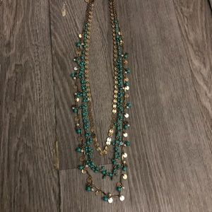 Chloe & Isabel three strand necklace